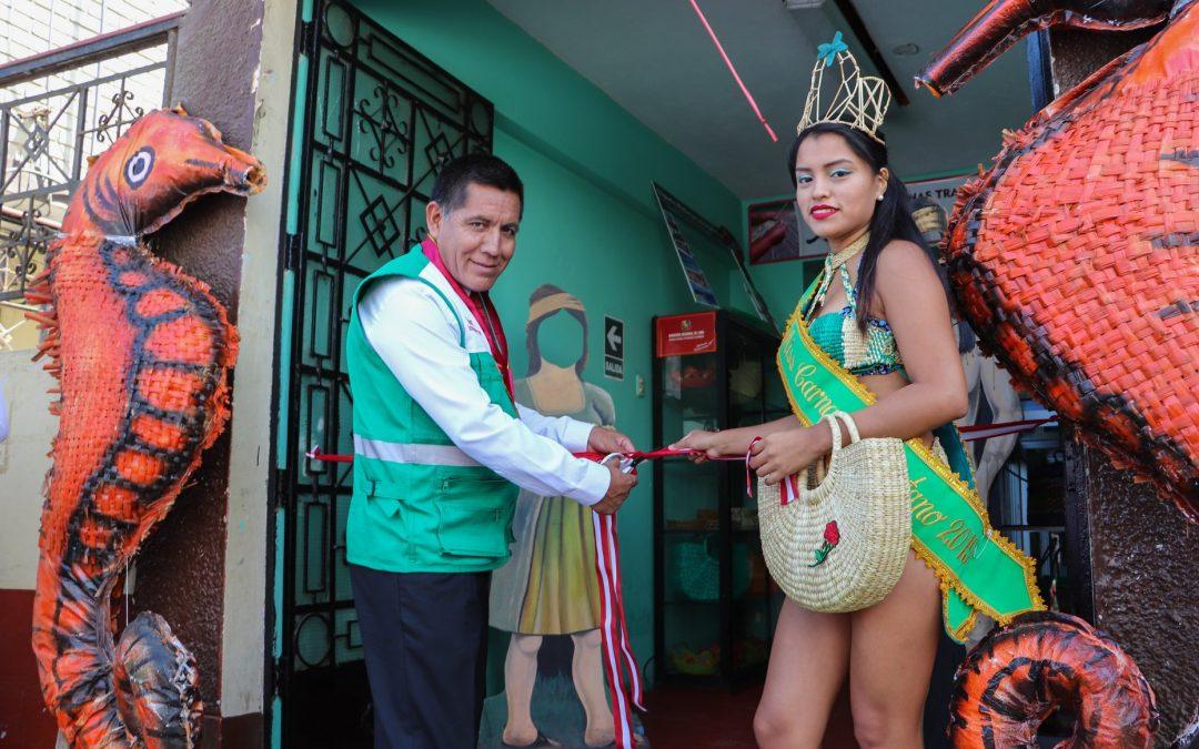 Inauguración de la tienda de artesanía veguetana «Vichama Shopping»
